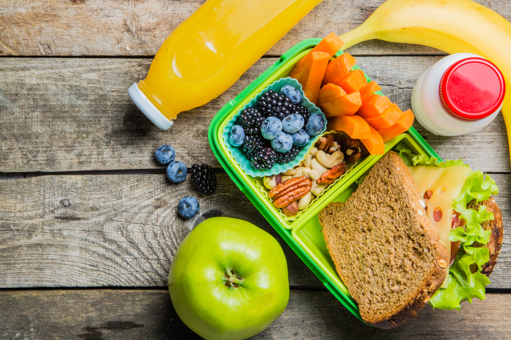 Creating Healthy School Lunches