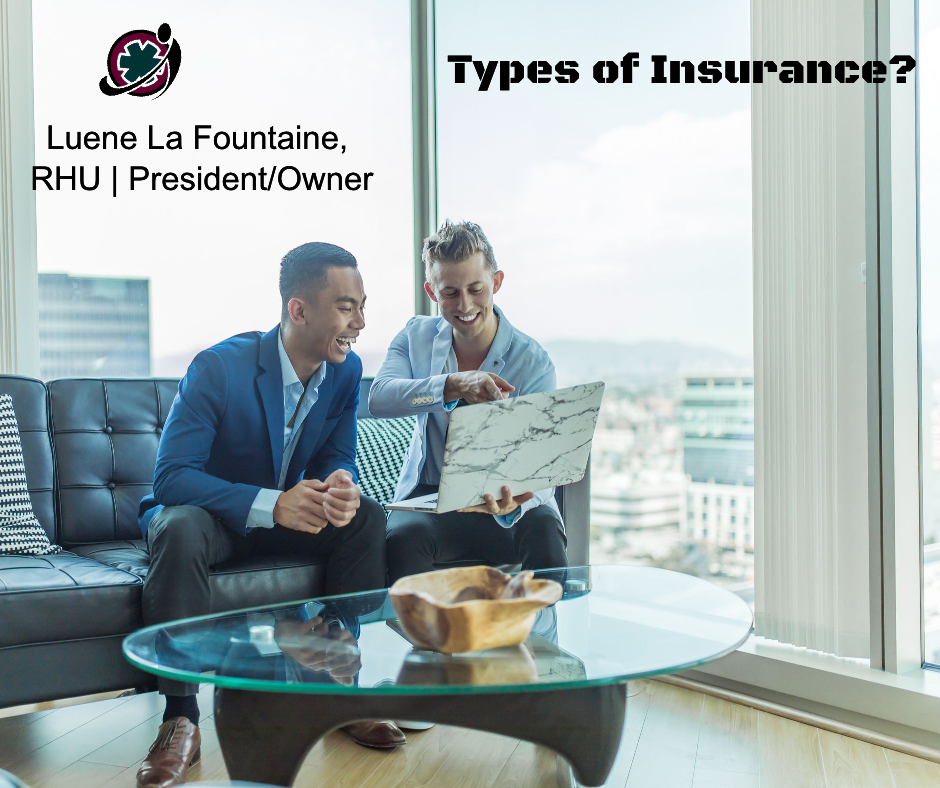 Explanation of Canadian Insurance Types